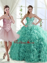 Decent Rolling Flowers Really Puffy Detachable Quinceanera Dresses with BeadingSJQDDT562002AFOR