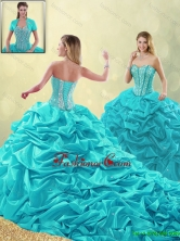 Detachable  Cheap Beading and Pick Ups Quinceanera Gowns with Court Train SJQDDT192002FOR