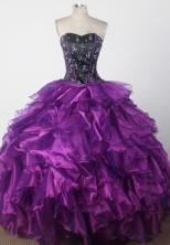 Exclusive Ball Gown Sweetheart Neck Floor-length Quinceanera Dress LZ42603