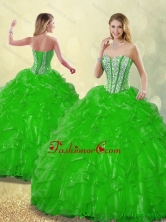 Fashionable 2016 Beading Detachable Quinceanera Dresses with Sweetheart SJQDDT186002-10FOR