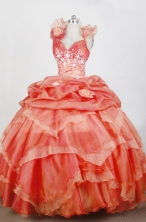 Gorgeous Ball Gown Sweetheart Neck Floor-length Quinceanera Dress LZ42605