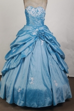 Gorgeous Ball Gown Sweetheart   Neck Floor-length Quinceanera Dress LZ42621