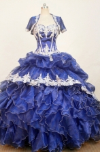 Gorgeous Ball Gown Sweetheart Neck Floor-length Quinceanera Dress LZ42623
