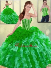 Gorgeous Multi Color Quinceanera Dresses with Brush Train SJQDDT193002-4FOR