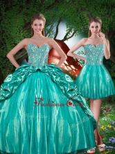 Summer Pretty Sweetheart Beading Detachable Quinceanera Dresses QDDTA80001FOR
