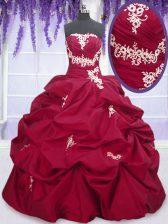Nice Pick Ups Floor Length Ball Gowns Sleeveless Fuchsia Sweet 16 Quinceanera Dress Lace Up