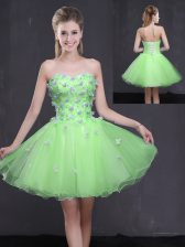 Prom Dress Prom and Party with Appliques Sweetheart Sleeveless Lace Up