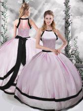 Sleeveless Ruching Zipper Quinceanera Dresses