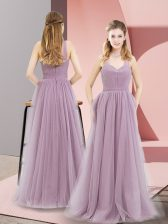 Shining Sleeveless Ruching Zipper Prom Party Dress
