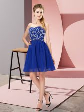 Adorable Sleeveless Beading Lace Up Dress for Prom