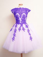 Noble Mini Length Multi-color Court Dresses for Sweet 16 Tulle Sleeveless Appliques