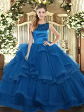 Chic Sleeveless Ruffles Lace Up Vestidos de Quinceanera