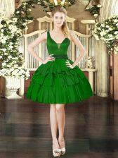 Luxury Sleeveless Beading Lace Up Prom Dress