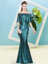 Amazing Sleeveless Sequins Zipper Homecoming Dress