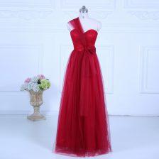 Artistic Sleeveless Zipper Floor Length Ruching Quinceanera Court of Honor Dress