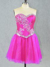 Hot Sale Sleeveless Beading Lace Up Prom Party Dress