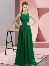 Sleeveless Zipper Floor Length Beading and Appliques Court Dresses for Sweet 16