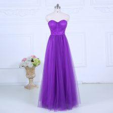 Sweetheart Sleeveless Tulle Court Dresses for Sweet 16 Ruching Zipper
