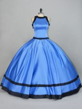 Suitable Sleeveless Lace Up Floor Length Ruching Ball Gown Prom Dress
