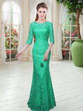 Half Sleeves Floor Length and Lace