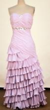 2012 Affordable Column Strapless Floor-Length Prom Dresses Style WlX426140