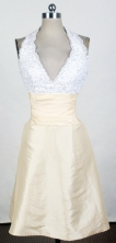 2012 Affordable Empire Halter Top Neck Mini-Length Prom Dresses Style WlX426135