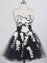 2012 Exquisite Short Sweetheart Neck Mini-Length Prom Dresses Style WlX42699