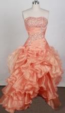 2012 Lovely A-line Strapless Floor-Length Prom Dresses Style WlX426114