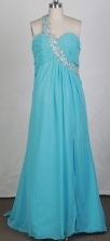 2012 Discount Empire One Shoulder Neck Brush Prom Dresses Style WlX426108
