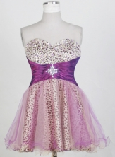 2012 New Short Sweetheart Neck Mini-Length Prom Dresses Style WlX42695