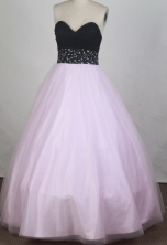 2012 Discount A-Line Sweetheart Neck Floor-Length Prom Dresses Style WlX42687
