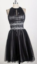 2012 Sweet Empire High-Neck Mini-Length Prom Dresses Style WlX426134