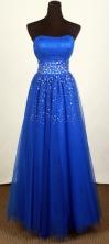 2012 Unique Empire Strapless Floor-Length Prom Dresses Style WlX426116