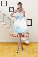 2015 Discount Halter Top Prom Gown with Pick Ups and Beading XFNAO085TZBFOR