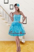 2015 Discount Sweetheart Beading Aqua Blue Prom Dresses with Beading XFNAOA37TZBFOR