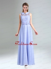 2015 Empire Lace Up Prom Dress Belt and Lace BMT029AFOR