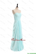 2016 Spring Simple Empire Sweetheart Prom Dresses with Ruching DBEES342FOR