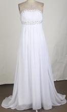 Discount Empire Strapless Brush Prom Dress LHJ42841