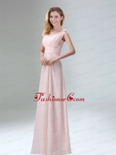 Beautiful Chiffon Prom Dress in Light Pink for 2015 BMT009CFOR