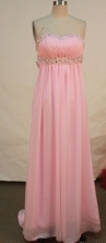 Beautiful Empire Sweetheart Floor-length Prom Dresses Appliques with Beading Style FA-Z-00153