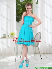Custom Made A Line Strapless Prom Dresses with Bowknot BMT001D-7FOR
