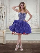 Discount Sweetheart Beaded 2015 Prom Dresses with Ruffles XFNAO7751TZBFOR