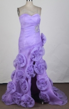 Discount A-line Sweetheart Brush Lavender Prom Dress LHJ42834