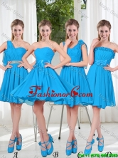 Exclusive 2016 Prom Dresses with Ruching in Blue BMT001-6FOR