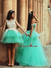 Fashionable Off the Shoulder Prom Dress with Lace and Appliques DXZH009FOR