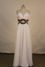Lovely Empire Sweetheart Floor-length Prom Dresses  Beading Style FA-Z-00156