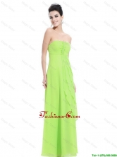 New Arrivals Strapless Beaded Prom Dresses in Spring Green DBEE326FOR