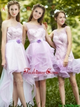 New Style Laced Lavender Tulle Prom Dress For Summer BMT0101FOR