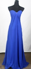 Popular Empire Sweetheart Floor-length Royal Blue Prom Dress LHJ42824