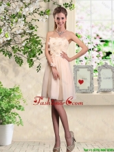 Popular Strapless Laced Prom Dresses with Appliques BMT044CFOR